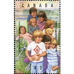 canada stamp 1523b family outing 43 1994