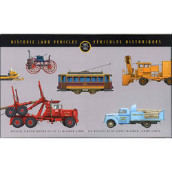 historic land vehicles maximum cards 25