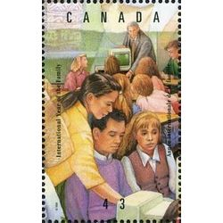 canada stamp 1523d education 43 1994