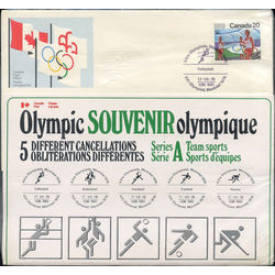 olympic souvenir series a team sports