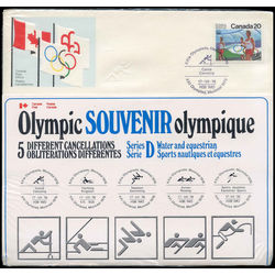 olympic souvenir series d water and equestrian