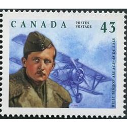 canada stamp 1525 william avery billy bishop 1894 1956 43 1994