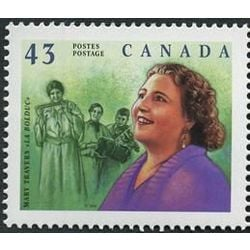 canada stamp 1526 mary travers la bolduc 1894 1941 43 1994