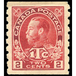 canada stamp mr war tax mr6ii war tax coil 1916 m vf 002