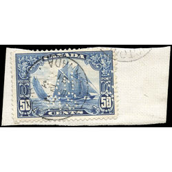 canada stamp o official oa158 bluenose 50 1928 u f 001