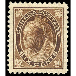 canada stamp 71 queen victoria 6 1897 m vf 008
