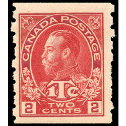 canada stamp mr war tax mr6ii war tax coil 1916 m vgnh 003