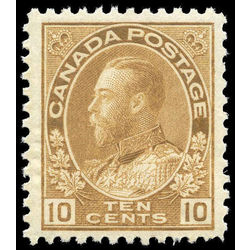 canada stamp 118b king george v 10 1925