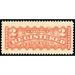 canada stamp f registration f1b registered stamp 2 1888 m vf 005