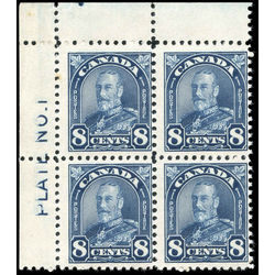 canada stamp 171 king george v 8 1930 pb fnh 003