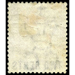 british columbia vancouver island stamp 8 surcharge 1867 m fog 009