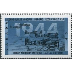 canada stamp 1539 tactical air forces 43 1994