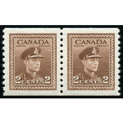 canada stamp 279pa king george vi 1948