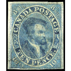 canada stamp 7 jacques cartier 10d 1855 u vf 011
