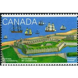 canada stamp 1547 louisbourg harbour and ships 43 1995
