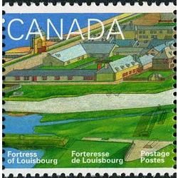 canada stamp 1548 town of louisbourg 43 1995