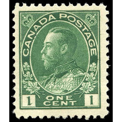 canada stamp 104 king george v 1 1911