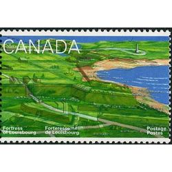 canada stamp 1551 partially eroded fortifications 43 1995