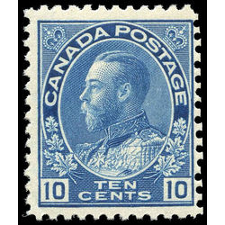 canada stamp 117a king george v 10 1922