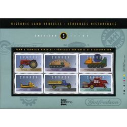canada stamp 1552 historic land vehicles 3 1995