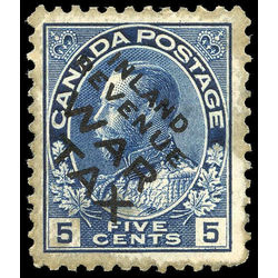 canada stamp mr war tax mr2bi war tax 5 1915 m vf 003