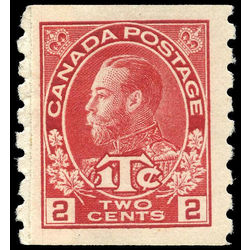canada stamp mr war tax mr6i war tax coil pair 1916 single m vf 001