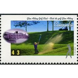 canada stamp 1555 glen abbey golf club oakville on 43 1995