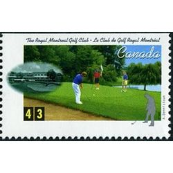 canada stamp 1557 royal montreal golf club montreal qc 43 1995