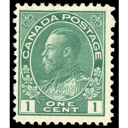 canada stamp 104ix king george v 1 1911