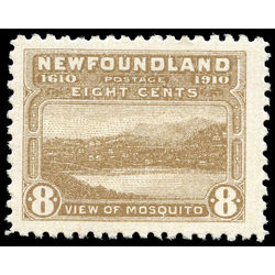 newfoundland stamp 93 view of mosquito 8 1910
