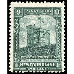 newfoundland stamp 152 cabot tower 9 1928