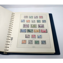 lindner canada album and slipcase with mint stamps