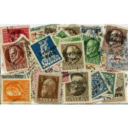 bavaria stamp packet