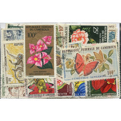 cameroons stamp packet