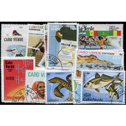 cape verde stamp packet