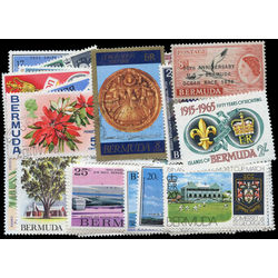 bermuda stamp packet
