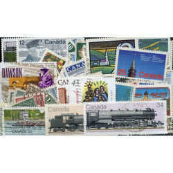 canada stamp packet