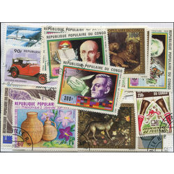 congo french stamp packet