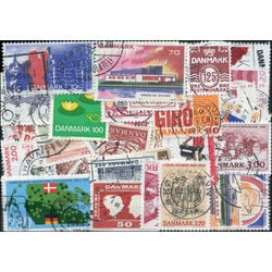 denmark stamp packet