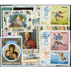 dubai stamp packet