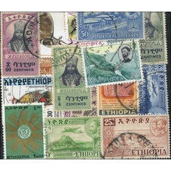 ethiopia stamp packet