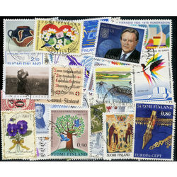 finland stamp packet