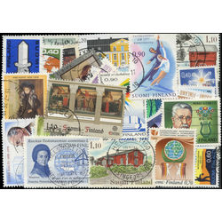 finland pictorials stamp packet