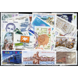 france recent issues stamp packet