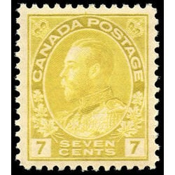 canada stamp 113 king george v 7 1912