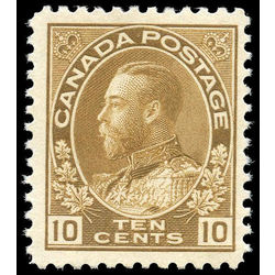 canada stamp 118 king george v 10 1925