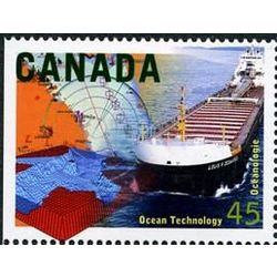canada stamp 1595 ocean technology 45 1996