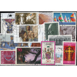 germany west stamp packet