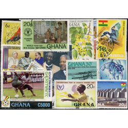 ghana only stamp packet