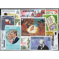 gibraltar stamp packet